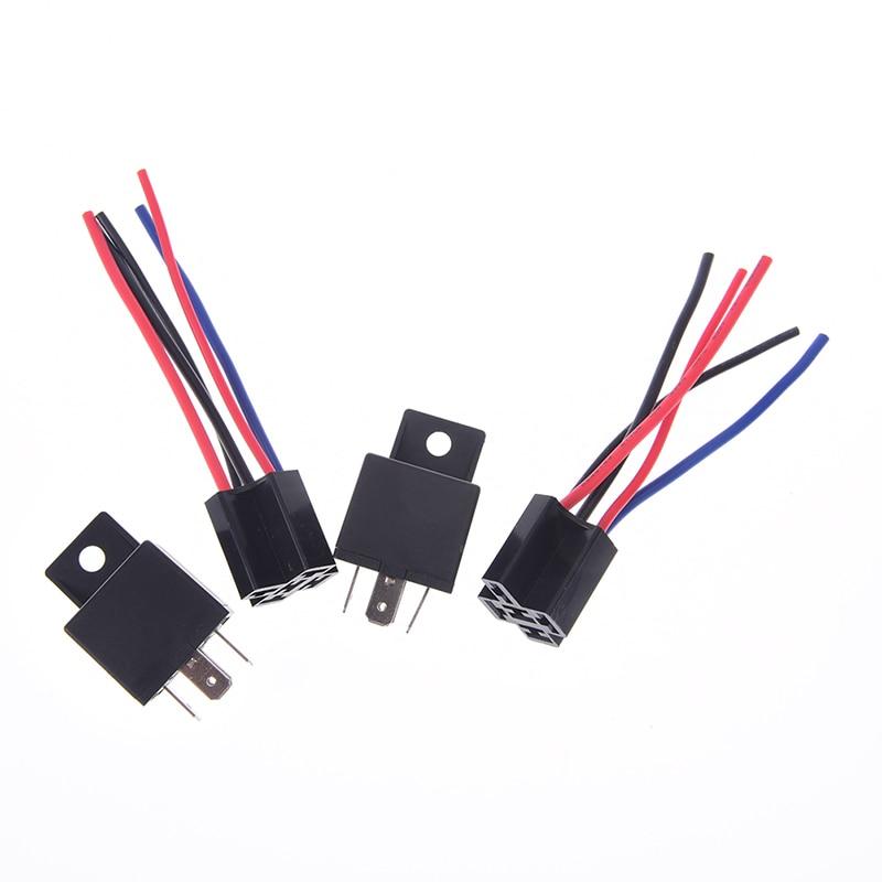 Transparent High Quality Automotive Relay 24V 40Amp 5Pin C//O Plug In