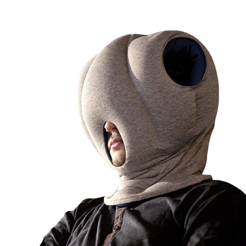 High quality nap glove hand ostrich pillow for sleeping travel bedding decorative bedroom pillows head decoration