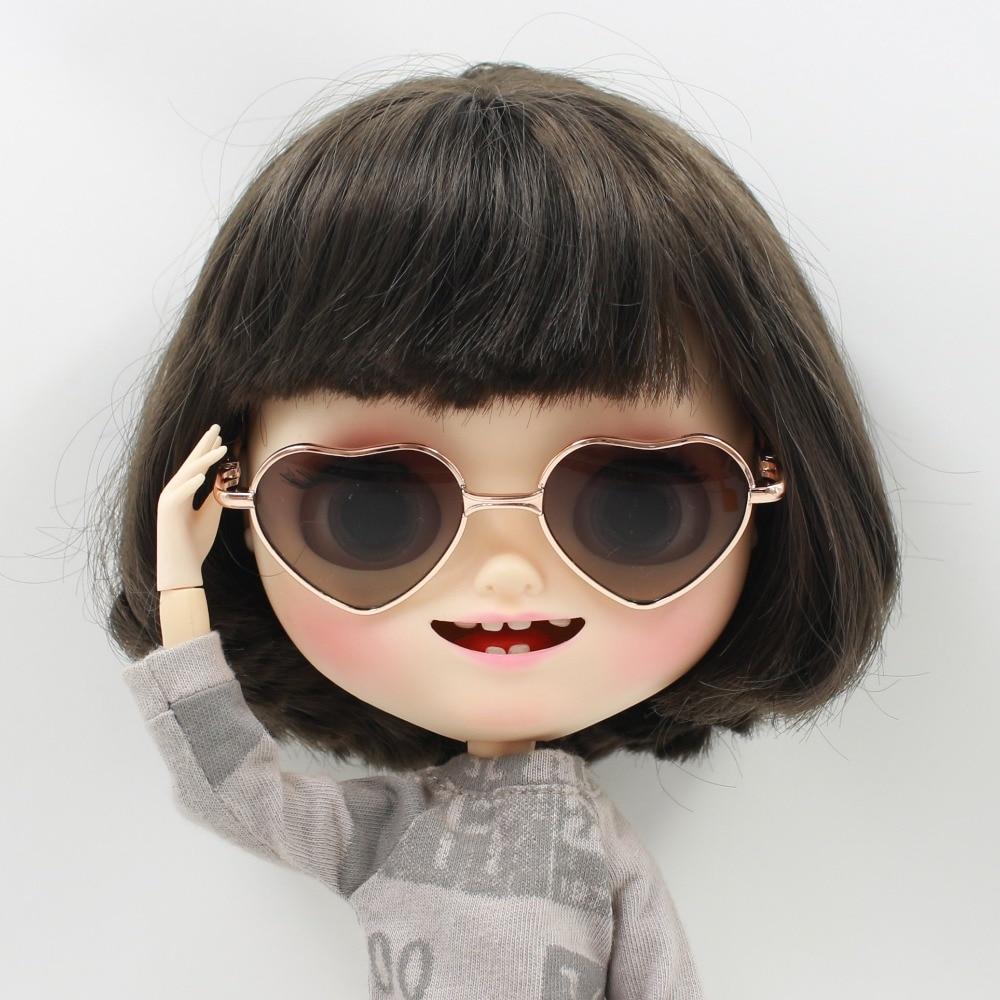 Neo Blythe Doll Heart Shaped Glasses 8