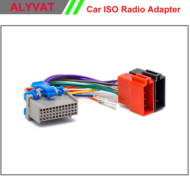 car stereo iso wiring harness for buick chevrolet gms hummer h3 pontiac  oldsmobile suzuki wire adapter connector cable adaptor