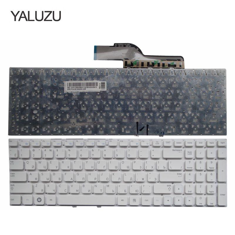 801bc074565 YALUZU russian laptop Keyboard for Samsung 300E5A 300E5C 305E5A NP300E5A  305E5A 300V5A 305V5A 300E5C RU white keyboards replace
