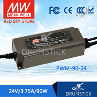 patriotic MEAN WELL PWM-90-24 24V 3.75A meanwell PWM-90 24V 90W Single Output LED Power Supply