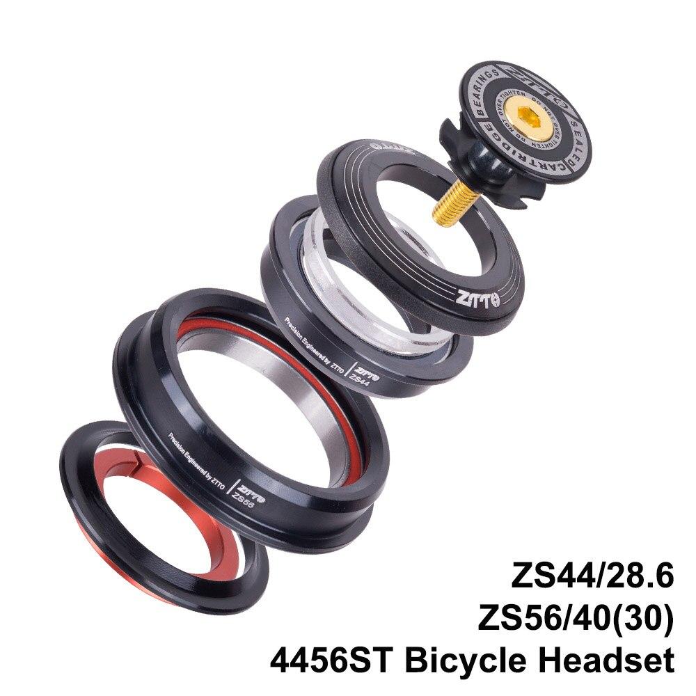 MTB Bicicleta de Estrada Bicicleta Headset Cônico 44mm 56mm CNC 1 1/8