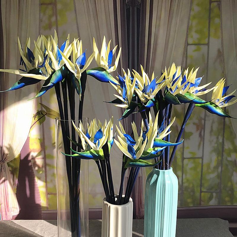 5pcs / Lot Ave del Paraíso - Big PU Real Touch Flower Envío Gratis - Para fiestas y celebraciones