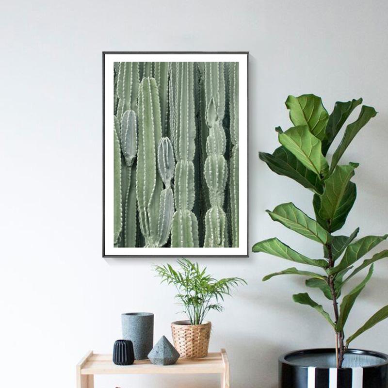 cuadros arte de la pared impresiones de la lona carteles dormitorio nrdico plantas verdes decoracin cactus