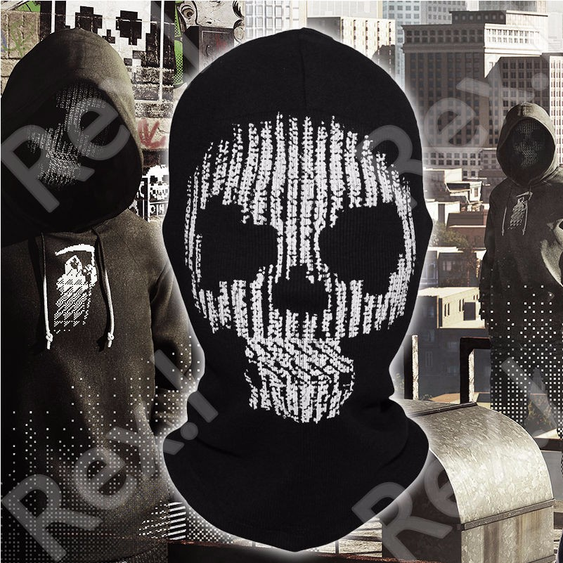 Watch Dogs  Full Face Masks