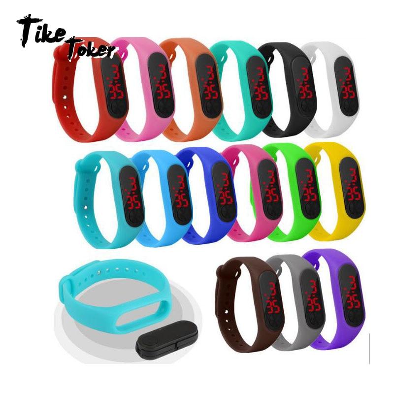 Digitale Uhren Kenntnisreich Männer Frauen Sport Led Digital Uhr Hand Ring Uhr Led Sport Mode Elektronische Uhr Silikon Elektronische Uhr Relogio Y50
