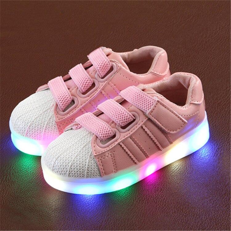 lente baby jongens meisjes sneakers kinderschoenen kids led licht