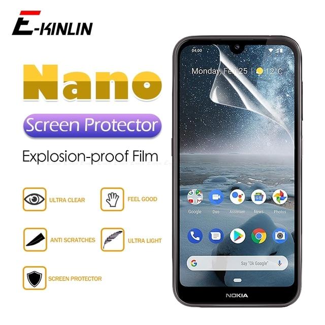 HD ברור מסך מגן תצוגת רך ננו אנטי פיצוץ מגן סרט עבור Nokia 8.1 7.1 6.1 5.1 4.2 3.2 3.1 2.1 בתוספת