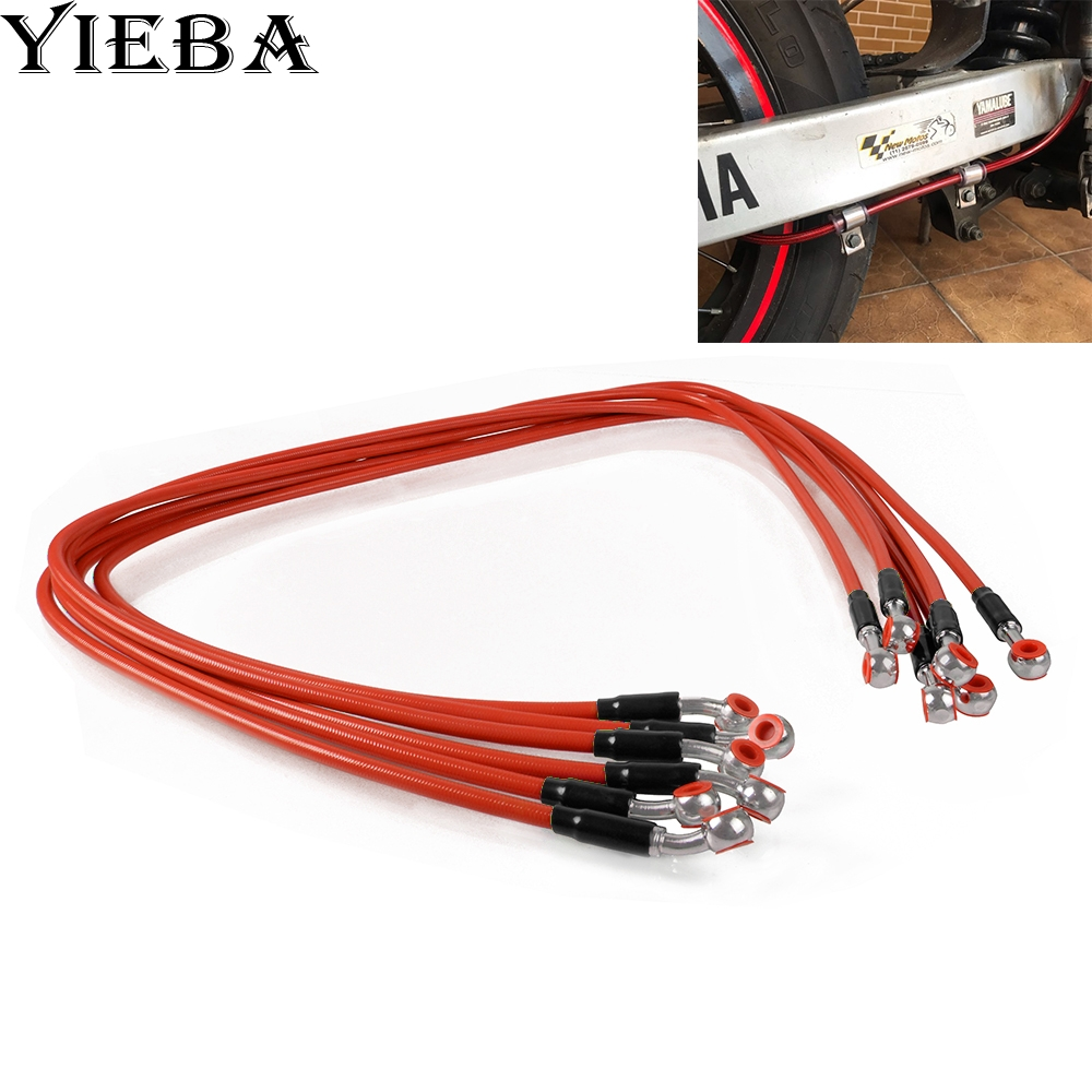 Motorcycle Dirt Bike Steel Hydraulic Reinforce Brake Line Oil Hose Line For Ducati 797 MONSTER MONSTER 797 M797 748 748S 748R