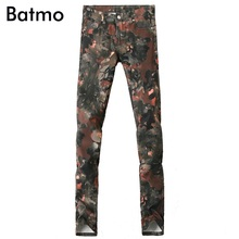 2017 new arrival high quality classic casual skinny camouflage jeans men,men's casual camouflage pants ,size 28 to 36