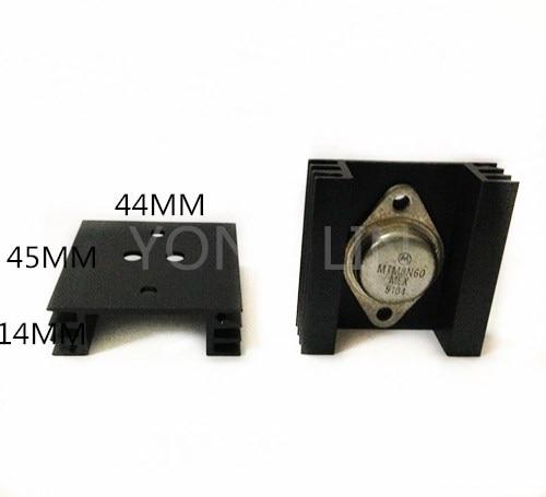 Подробнее о 5piece Solid state relay heatsink44*14-45mm/aluminum heat sink/audion heat sink free shipping compact relay socket solid state heat radiator heatsink