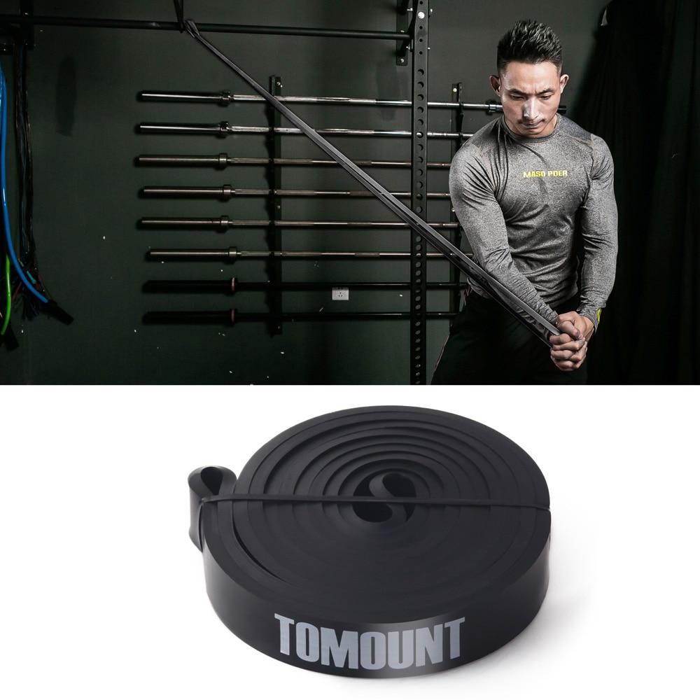 TOMOUNT Rubberen elastische fitnessbody Bouwbestendigheidsbanden - Fitness en bodybuilding