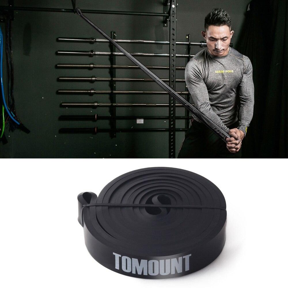 TOMOUNT Gummi Elastisk Fitness Body Building Modstandsbånd - Fitness og bodybuilding - Foto 1