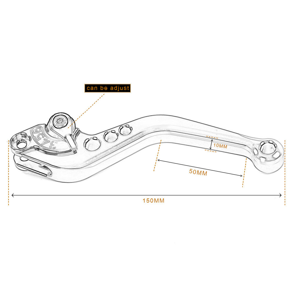 Motoo F 14 C 777 Brake Clutch Levers For Kawasaki Zx9 Zx1100 Zx 11 Zx11 Wiring Diagram Zrx1100 Zzr1200 Fjr 1300 Tiger 1200 Explorer In Ropes Cables From Automobiles