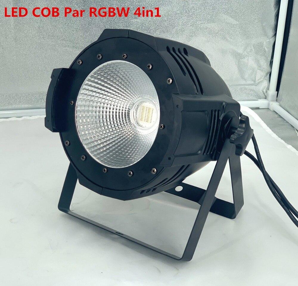 LED COB Par lights 200W RGBW 4in1 led par light  Lyre Stage Lighting Effect professional stage DJ dmx light