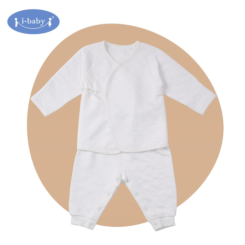 i-baby Baby Rompers 100% PIMA Cotton Baby Boy Girl Clothes Infant Matelasse Jacquard Newborn Ropa ...