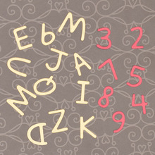 Alphabet Numerals Metal Cutting Dies for Scrapbooking Card Album Decoration making Paper Embossing