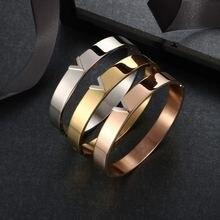 Msx оптовая продажа золотые браслеты из нержавеющей стали женские