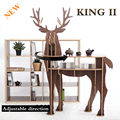NEW! J&E Wooden Deer home decor coffee table  KING II self-built puzzle furniture