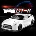 Envío gratis Nuevo Vehículo Nissan GTR R35 1:24 Aleación Diecast Car Model Toy Collection negro Blanco rojo regalo de Navidad de cumpleaños