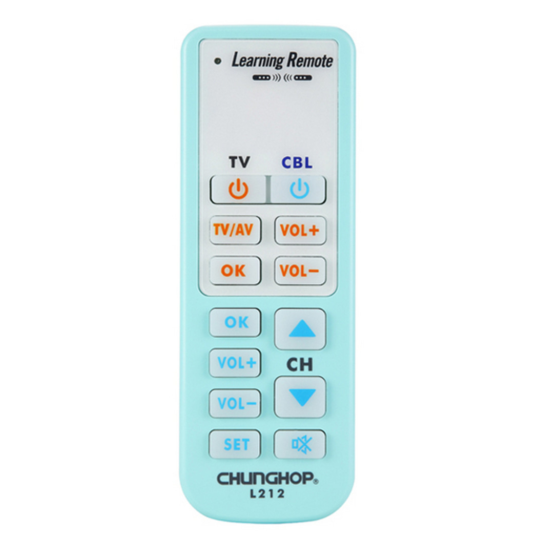 CHUNGHOP 1pcs remote Universal Smart Remote Control Controller Learn Function For TV CBL DVD SAT L212