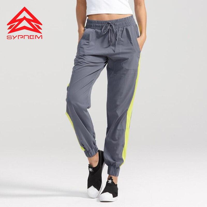 Syprem Yoga Sports Pants 2017 New Running Gym Hiking Ninth