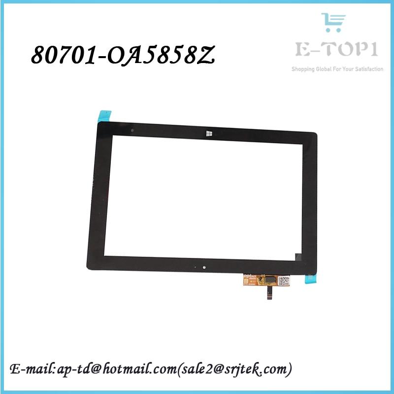 Original 10.1 inch 80701-OA5858Z Touch Screen Panel Digitizer Glass Sensor Tablet Pc