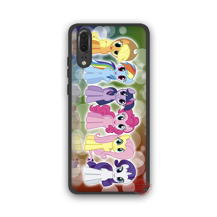 WEBBEDEPP My Little Pony friendly is Magic мягкий чехол для Huawei P8 P9 P10 P20 P30 Lite Pro 2017 2018 2019 чехол