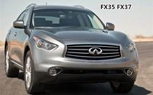 Eosuns светодио дный DRL дневного света туман передний бампер свет с объектив проектора для Infiniti FX35 FX37 FX50 QX56 QX70 QX80