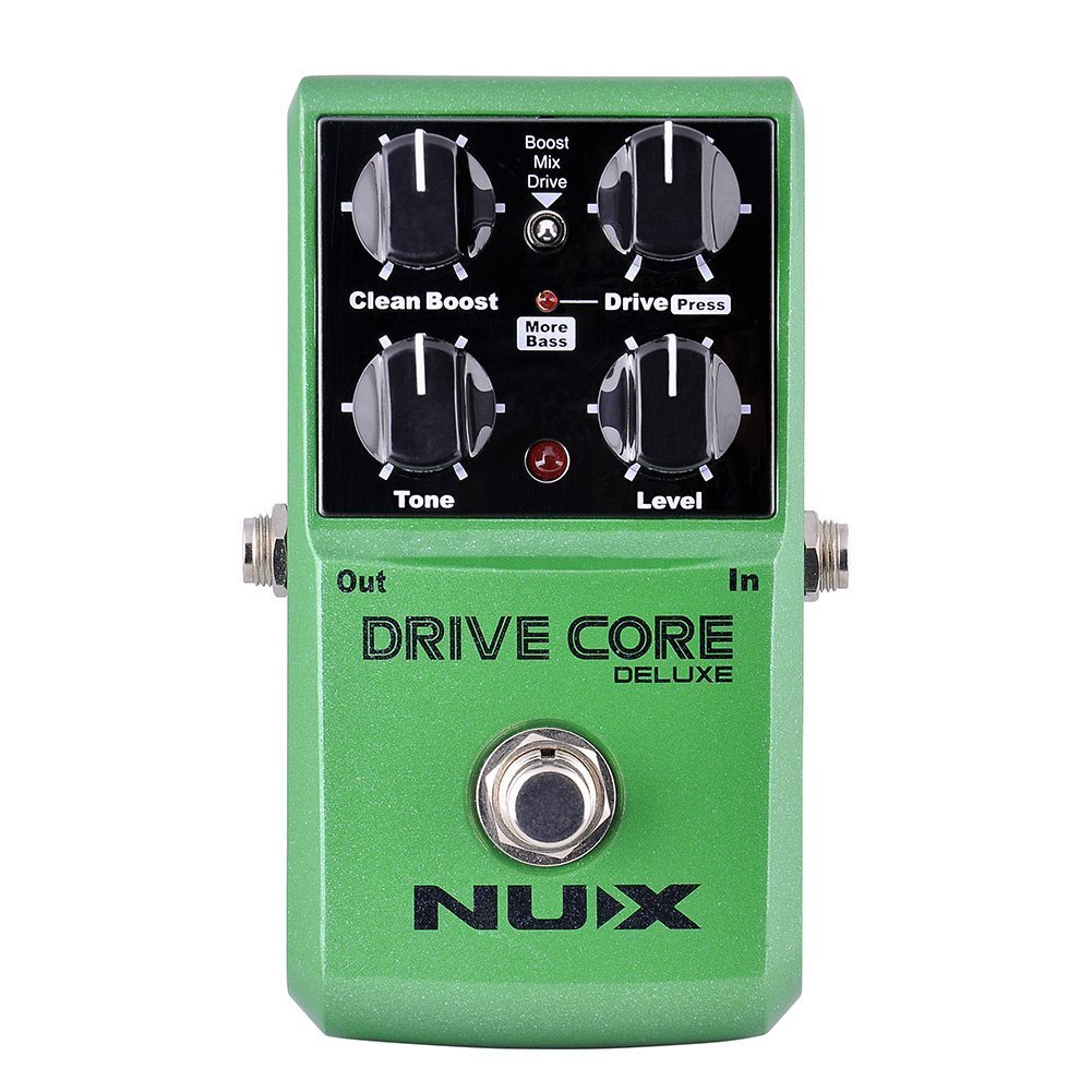 NUX DRIVE CORE DELUXE Electric Guitar Overdrive Effects Pedal Mixture of Booster Powerful and Warm nematode parasite infesting lizard and their physiological effects