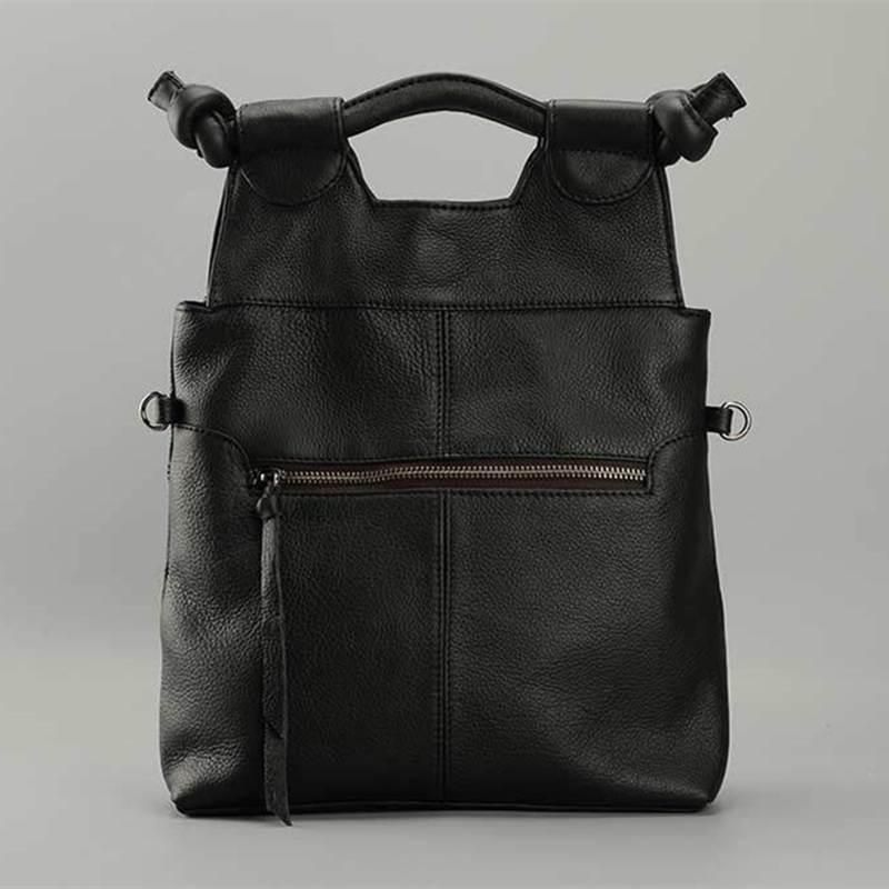 ФОТО Vintage Style Women's Handbag Genuine Leather Tote Shoulder Handbag Satchel Vertical Female Bag Cow Leather Lady Purses 2016 New