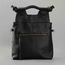 Vintage Stil Frauen handtasche Aus Echtem Leder Tote Schulter Handtasche Satchel Vertikale Weiblichen Beutel Kuh Leder Dame Geldbörsen 2016 Neue