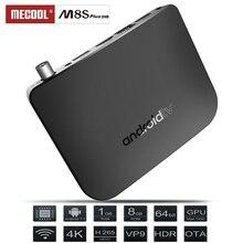 MECOOL M8S Plus DVB -T2 Android 7.1 TV Box Amlogic S905D 1GB+8GB 2.4G WiFi 100M 4K H.265 Media Player Smart Set Top Box