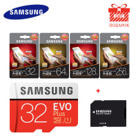 SAMSUNG 100Mb S Micro SD Card 128GB 32GB 64GB 256GB Memory Card Class10 U3 Flash TF