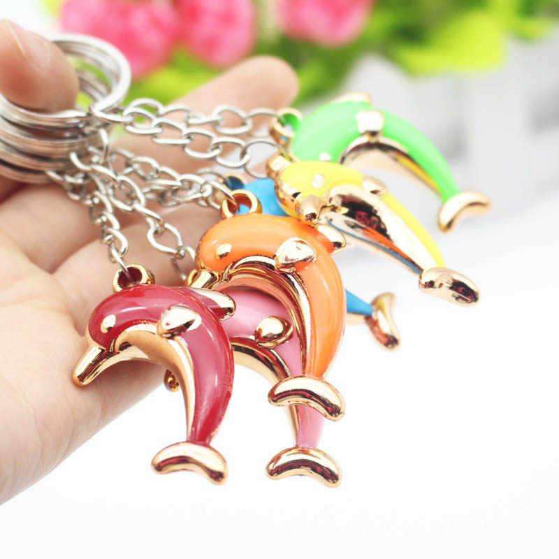 RE 100 шт./лот, бесплатная доставка, резиновый дельфин, подарок для мужчин и женщин, брелок для ключей, брелок для ключей, держатель, автомобильная сумка, оптовая продажа