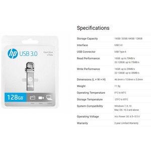 Image 5 - الأصلي HP محرك فلاش USB 128gb cle USB Flas 3.0 بندريف عالية السرعة صغيرة Cle ذاكرة عصا شعار لتقوم بها بنفسك Freies شيف USB عصا