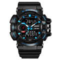 2016 famosa marca impermeable de goma redondo moda casual g estilo digital relojes deportivos para hombres relojes deportivos para hombres