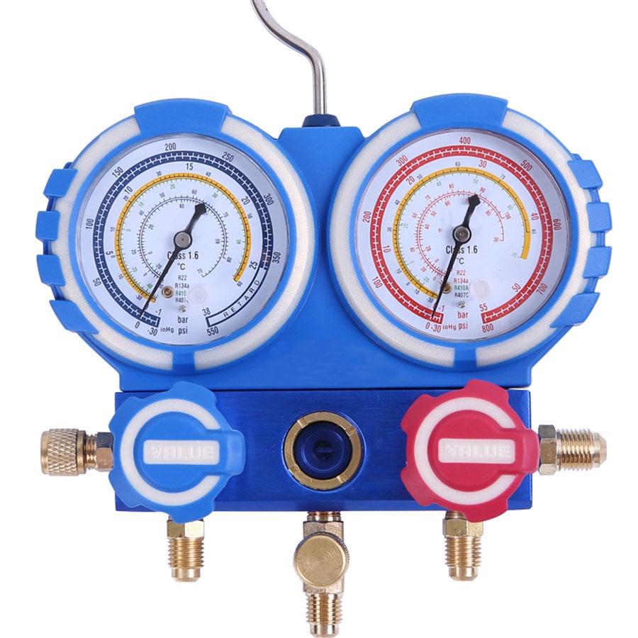 VMG-2-R22-B air-conditioning Fluorine meter VMG-2-R134a-B refrigerant refrigerant pressure gauge VMG-2-R410a-B apple ipod touch 16gb silver mkh42ru a