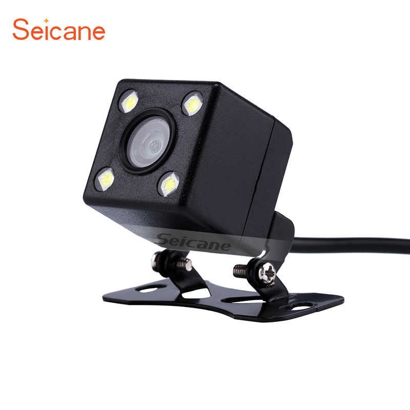 Seicane Hot Selling HD High definition Vision for Parking Car Reverse Rear View 170 Degree Wide Angle Backup Camera