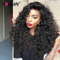 Glueless Lace Front Human Hair Wigs With Baby Hair 250% Density Malaysian Loose Wave Full Lace Human Hair Wigs 7A Front Lace Wig