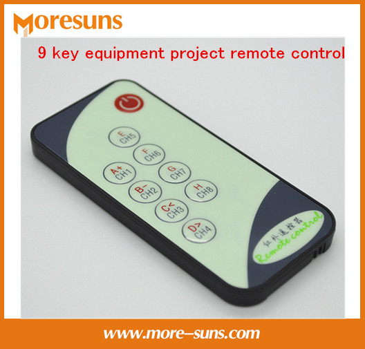 Free Ship 10pcs 9 Key Equipment Project Remote Control/send C Reference Code 8 M Launch Small Infrared Remote Control
