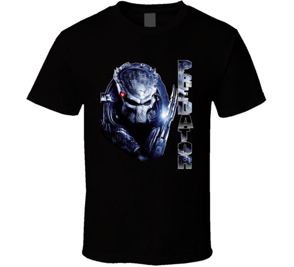 Predator alien movie T Shirt colour jurney Print t shirt jurney Print t-shirt Cool xxxtentacion Brand shirts jeans Print
