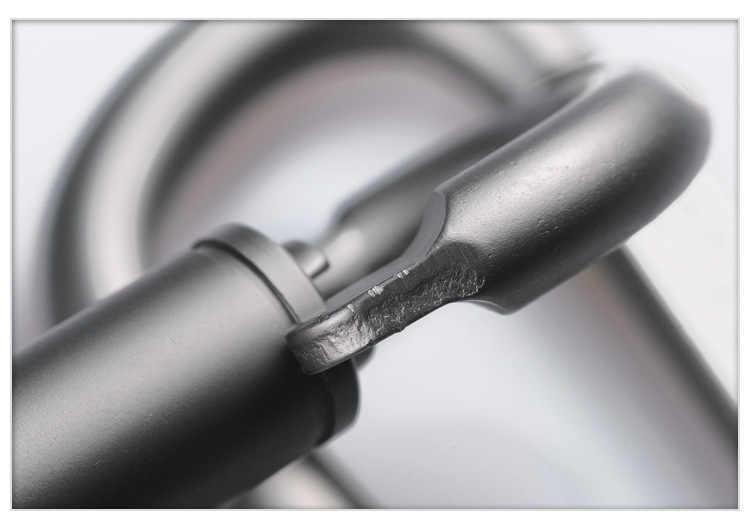 1ชิ้นDรูปล็อคC Arabiner S Napตะขอพวงกุญแจกิจกรรมกลางแจ้งอลูมิเนียม