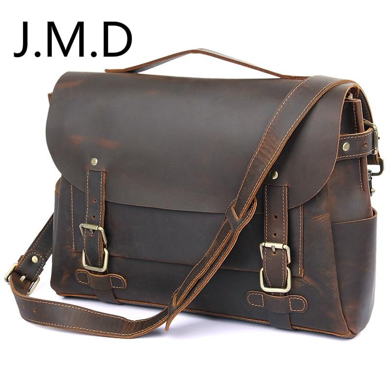 J.M.D 2019 New Mens Single Shoulder Real Cow Bag Computer Messenger Bag Briefcase Handbags 7369 J.M.D 2019 New Mens Single Shoulder Real Cow Bag Computer Messenger Bag Briefcase Handbags 7369