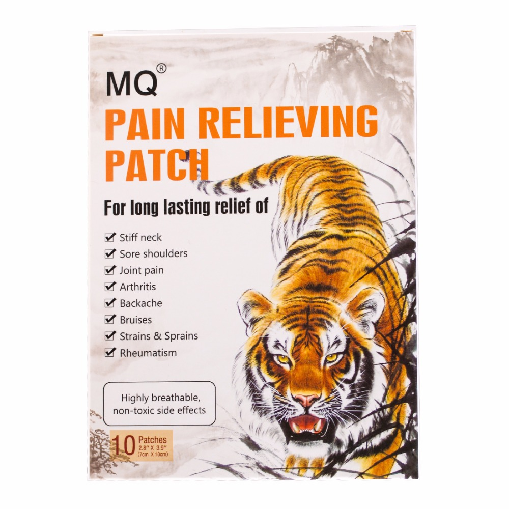 10 Pcs/box Tiger Balm Plaster Chinese herbal medicine Pain Relieving Patch For All Body Knee Joint Pain Relief Patch Health Care 16pcs chinese herbal medicine joint pain tiger balm arthritis rheumatism myalgia treatment massage plasters c201