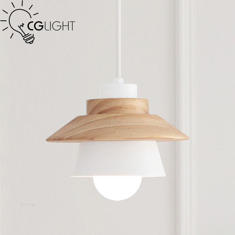 New Modern light Vintage OAK Wood Pendant Light Industrial Loft Retro American Country Droplight Bar Cafe Restaurant light vintage iron pendant light industrial loft retro droplight bar cafe bedroom restaurant american country style hanging lamp