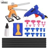 WHDZ pdr Car Paintless Dent Removal Repair Tool Kit Dent Lifter Glue gun glue tabs Suction Cups PDR Tool kit Ferramentas