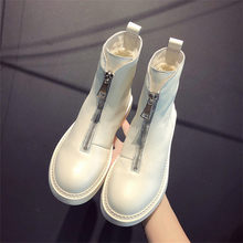 2019 New casual women shoes winter hot leather short tube Martin boots fashion trend comfortable soft wild warm women's boots(China)