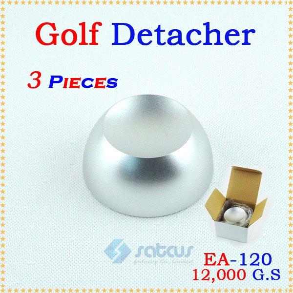 3pcs/lot Universal EAS Magnetic Sensor Security Hard Hook Tag Golf Detacher EA-120 golf 3 td 2011